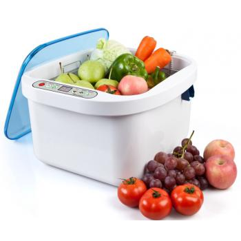 KD-6001 ultrasound and ozone sterilizer for vegetables / fruit household use