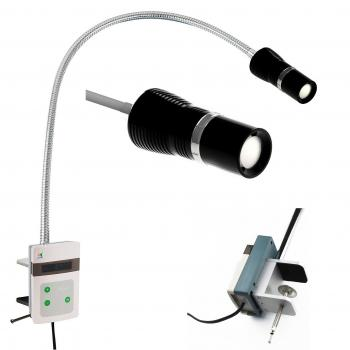 KWS JD1600J 15W clip on tipo LED lampada da visita chirurgico Medical Exam Light