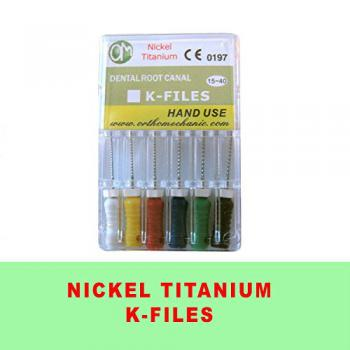New Endodontic NiTi K file Hand use 15 – 40LEVIN dentale 21 mm 6 file per confezione