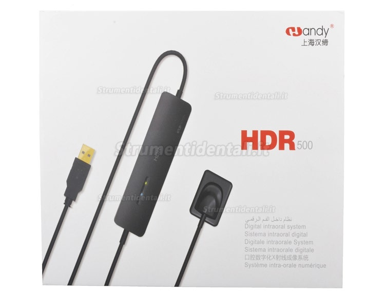 Handy HDR-500 Dentale sensori endorali sensori intraorali digitali usb