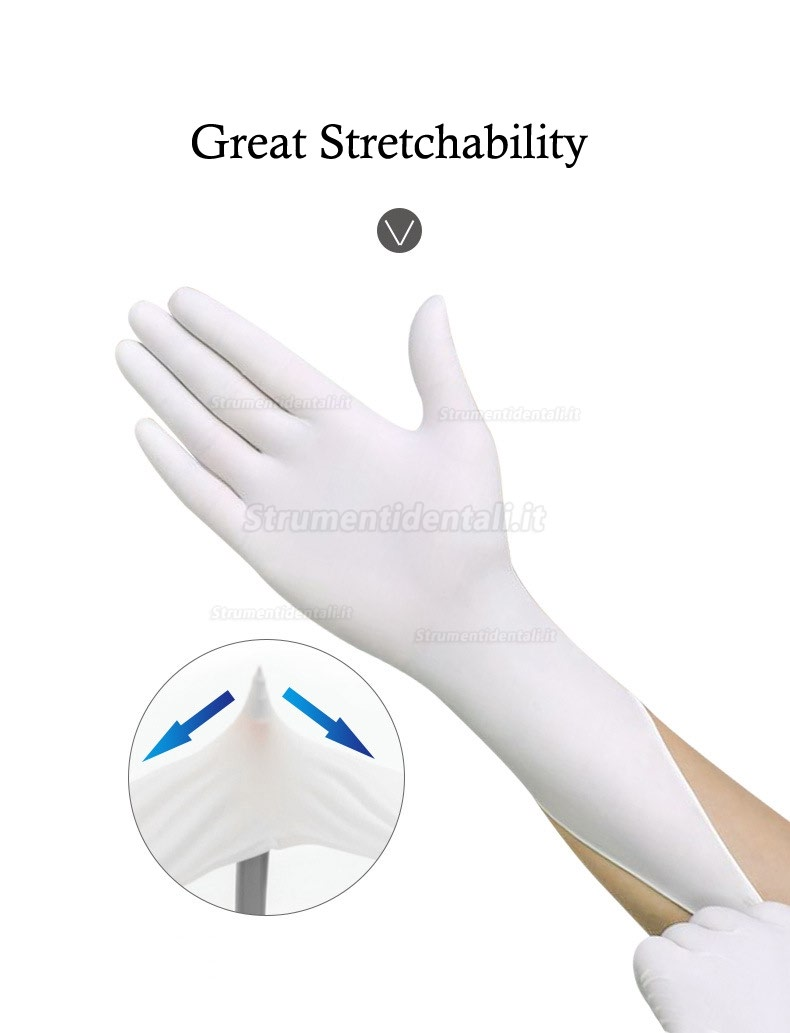 100pcs/lot Disposable Latex Medical Gloves Universal Cleaning Work Finger Gloves Latex Protective Home Food