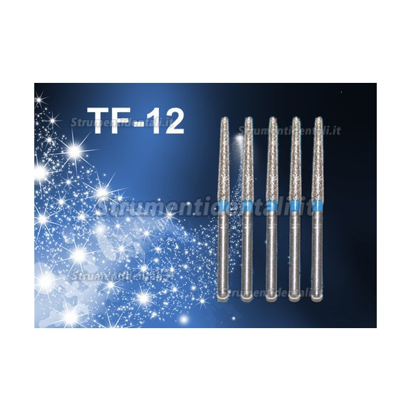 FG TF-12 1.6mm Frese diamantate odontoiatrico 100 pz